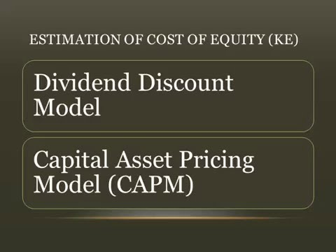 Cost of Equity Capital - Meaning & Calculation