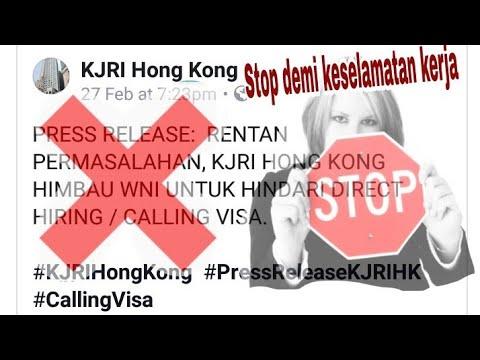 Peraturan pemerintah tentang 'Calling Visa' tahun 2018 || TKW HONGKONG
