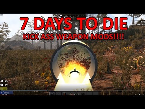 7 days alpha 17 weapon mods and terrain improvements
