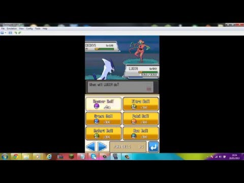 Pokemon Soul Silver - Wild Deoxys cheat