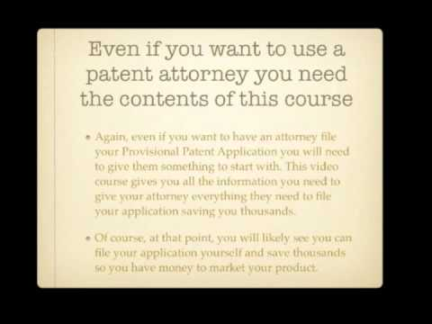 How To Get A Provisional Patent
