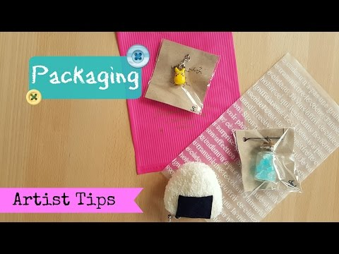 DIY Packaging for handmade items - Artist Tips