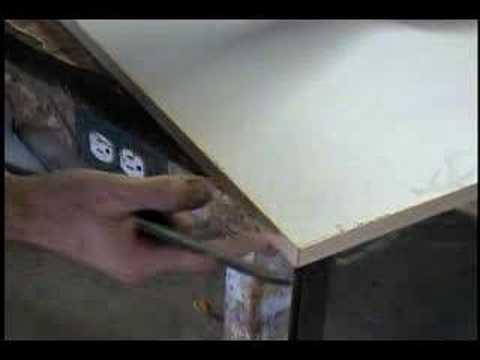 Laminating Cabinet Doors prt. 3