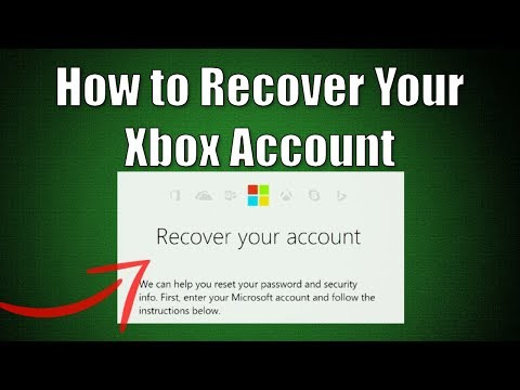 How to Recover Your Xbox Account