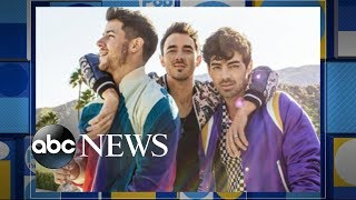 Jonas Brothers' new 'Sucker' music video features their leading ladies | GMA