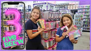FIVE BELOW 3 iPHONE CASES CHALLENGE   Part #2   SISTER FOREVER