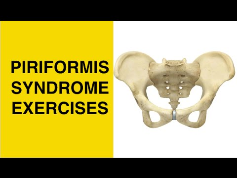 BEST Piriformis Syndrome Stretches & Exercises - Sciatica Treatment at Home - SI Joint