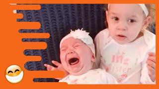 Lustiges Geschwister Baby - lustiges und niedliches Baby Video