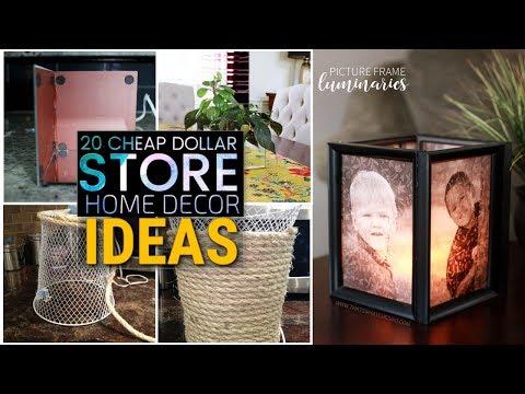 20 Cheap  DIY dollar store decor ideas