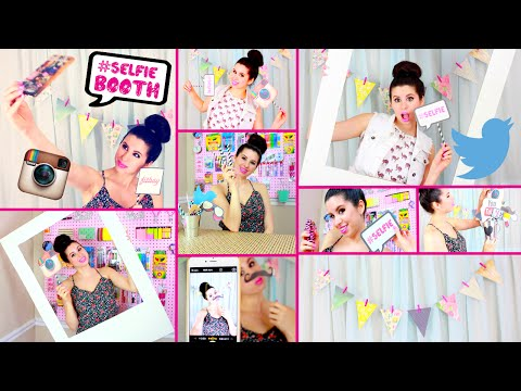 DIY Selfie Booth! | DIY Selfie Props! | DIY Decor! | Easy Dollar Store DIYS!
