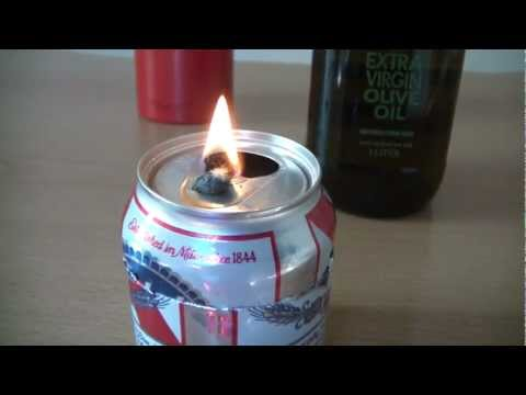 How To Make an Emergency Oil Lamp