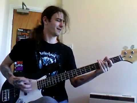 Fight Fire With Fire Bass Cover