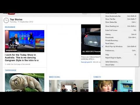 How to change your homepage on Safari in Windows 7