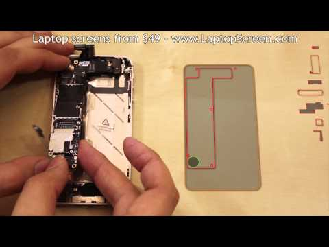iPhone 4S screen replacement / repair disassembly and reassembly guide