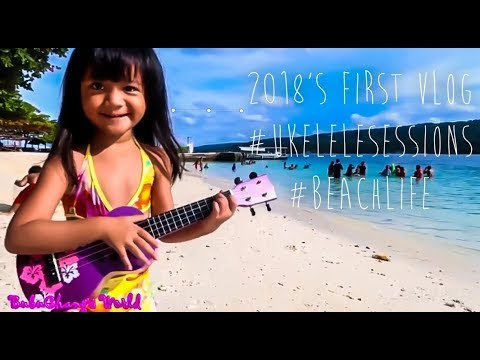 2018's First Vlog - Plus Ukelele Sessions and Amazing White Sand Beach