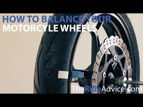 How to Balance Your Motorcycle Wheels