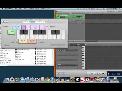 How to trigger one-shot samples in Garageband using MIDI controller