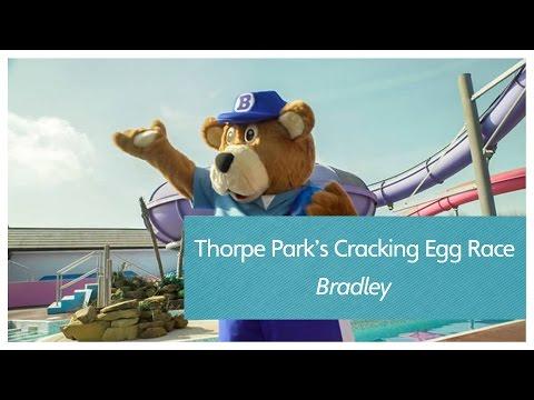 Thorpe Park's Cracking Egg Race - Bradley