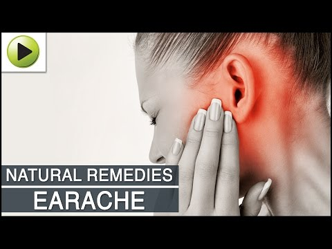 Earache - Natural Ayurvedic Home Remedies