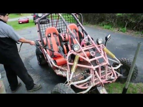$150 GY6 Powered 250cc Roketa Go Kart Budget Build