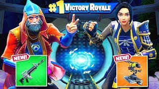 Rock PORTAL Scissors *NEW* Gamemode in Fortnite Battle Royale!