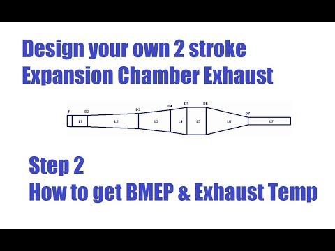 How to calculate BMEP and 2 stroke Exhaust Temperature. 2t Chamber Pt 2