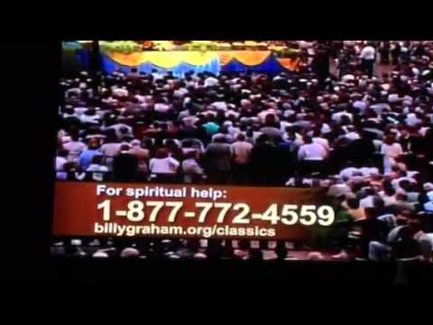 Pray to accept Jesus Christ ,  Billy Graham