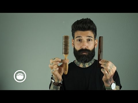 How I Tame a Thick & Curly Beard | Carlos Costa