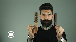 How I Tame a Thick & Curly Beard   Carlos Costa