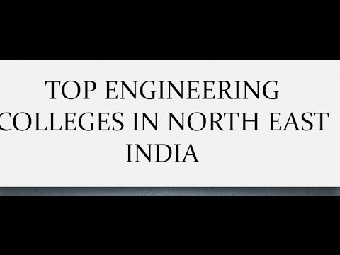 Top Engineering Colleges In North East India