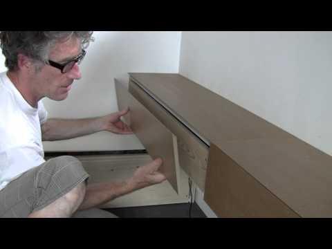 making wall mounted drawers