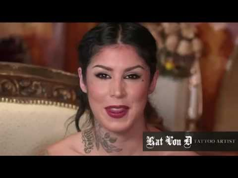 Kat Von D Shows You How to Contour an Oval Face Shape Using Everlasting Bronzer and Blush