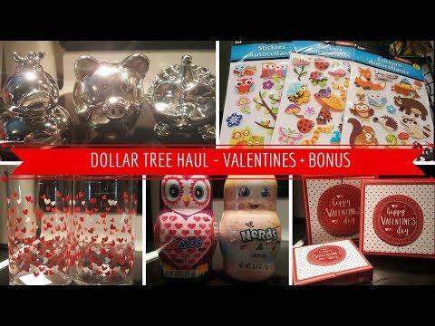 DOLLAR TREE HAUL - VALENTINES + BONUS