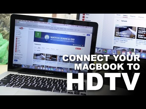 How to Connect MacBook Pro to HDTV – MacBook without HDMI Output to TV