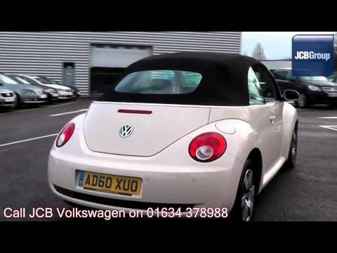 2010  Volkswagen Beetle Cabriolet 1.9l Harvest Moon Beige Metallic AD60XUO for sale at JCB VW Medway