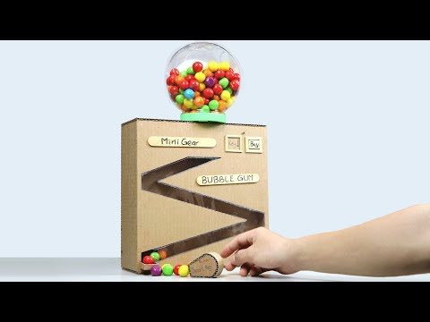 Wow! Amazing BUBBLE GUMBALL Machine DIY with Smart Key