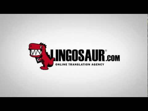 Lingosaur Online Translation Agency - Translate your documents the easy way