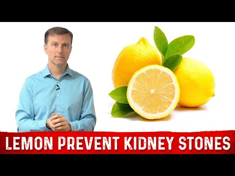 A LEMON a Day Keeps Your Kidney Stones Away