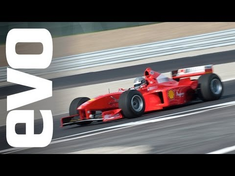 Ferrari F1 car drive -- evo exclusive