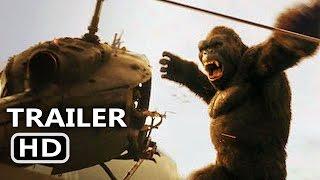 KING KONG 360° VR Trailer (2017) Helicopter Crash Movie Scene HD