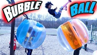 EPIC BUBBLE BALL BATTLE! - Onyx Adventures