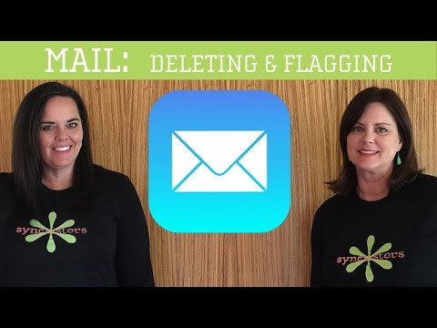 iPhone / iPad Mail - Deleting & Flagging emails