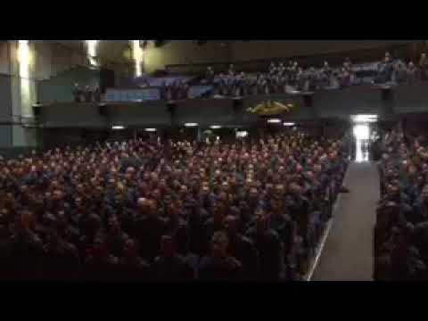 Navy Sailors Recite Navy Creed