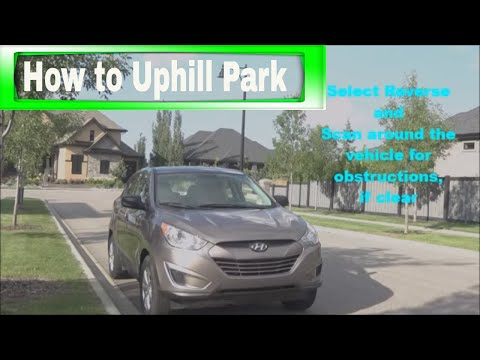 How to Park Uphill with a Curb