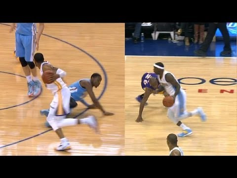 Man down!NBA Top 10 Ankle Breaking plays 2014