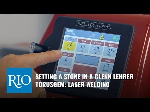 Setting a Stone in Your TorusGem with Glenn Lehrer: Laser Welding Technique