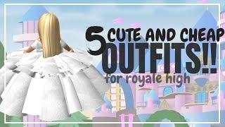Royale High Cheap Outfits Videos 9tube Tv - 5 cute cheap girl outfit ideas for royale high royale high