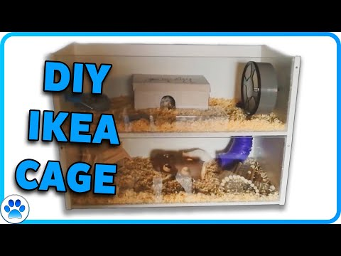 D.I.Y Hamster Cage IKEA Billy Cage