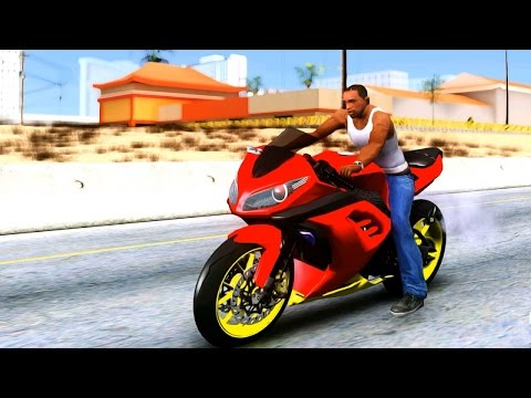 Kawasaki Ninja 250FI Ian Anak Jalanan - GTA San Andreas MOD