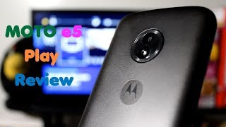 Moto E5 Play Review: A Great Budget Smartphone! (Boost Mobile)